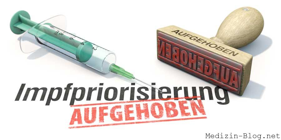 Impfpriorisierung aufgehoben