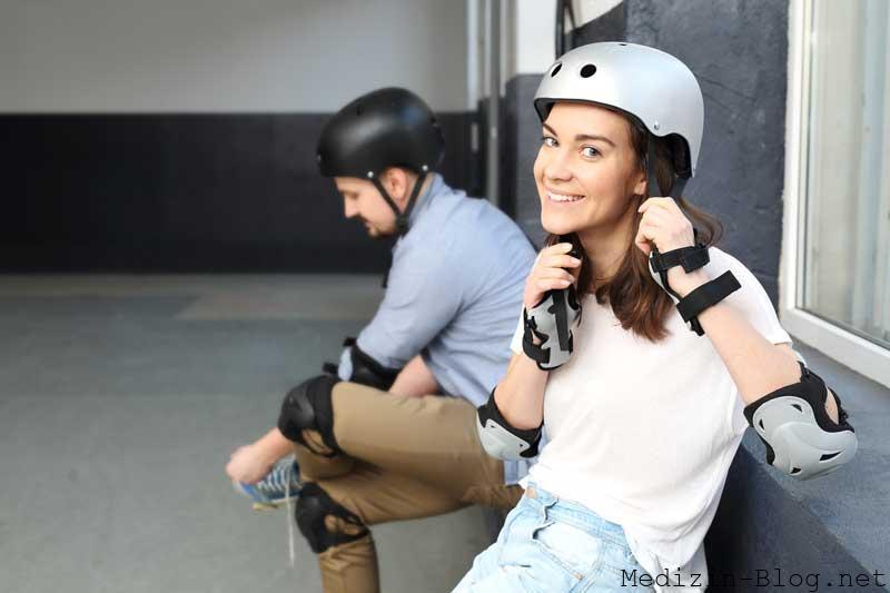 schutzkleidung-Rollschuhfahren